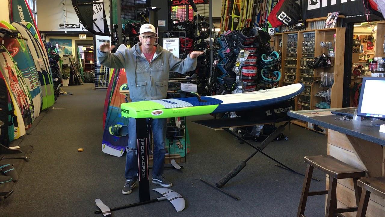 The Dialer 130 Slingshot Windsurf Foil Board on Sale now for just $749