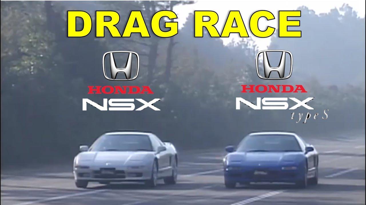 Drag Race #142   Honda NSX vs NSX Type S