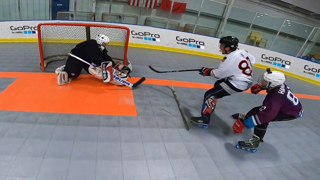 IRON MAN HOCKEY TOURNAMENT *CRAZY GOAL*