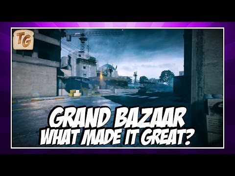 'Grand Bazaar' from Battlefield 3 - What Made It Great? | Map Analysis