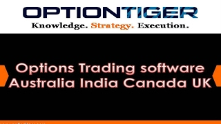 Options Trading software Australia India Canada UK by Options Trading Expert Hari Swaminathan