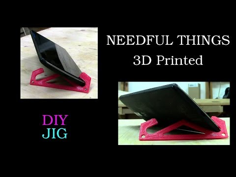 Mini mobile phone stand from the 3D printer + Win a Pfrimpftl - DIY JIG