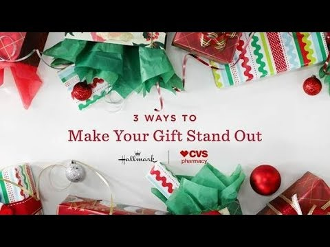 Cvs Hours Christmas Eve.How To Make Your Gift Wrapping Stand Out Hallmark Holiday Inspiration Cvs Pharmacy
