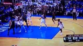 Tim Duncan fights Perkins
