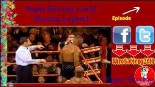Mike Tyson V Evander Holyfield I Super boxing legend