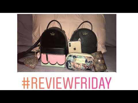 KATE SPADE ♠️ | Review Friday | Mini Backpack | What Fits Inside