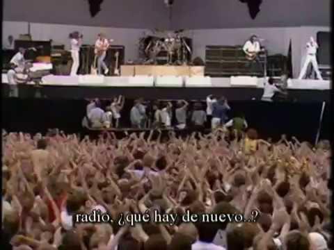 Queen Radio ga ga español/ingles subtitulos