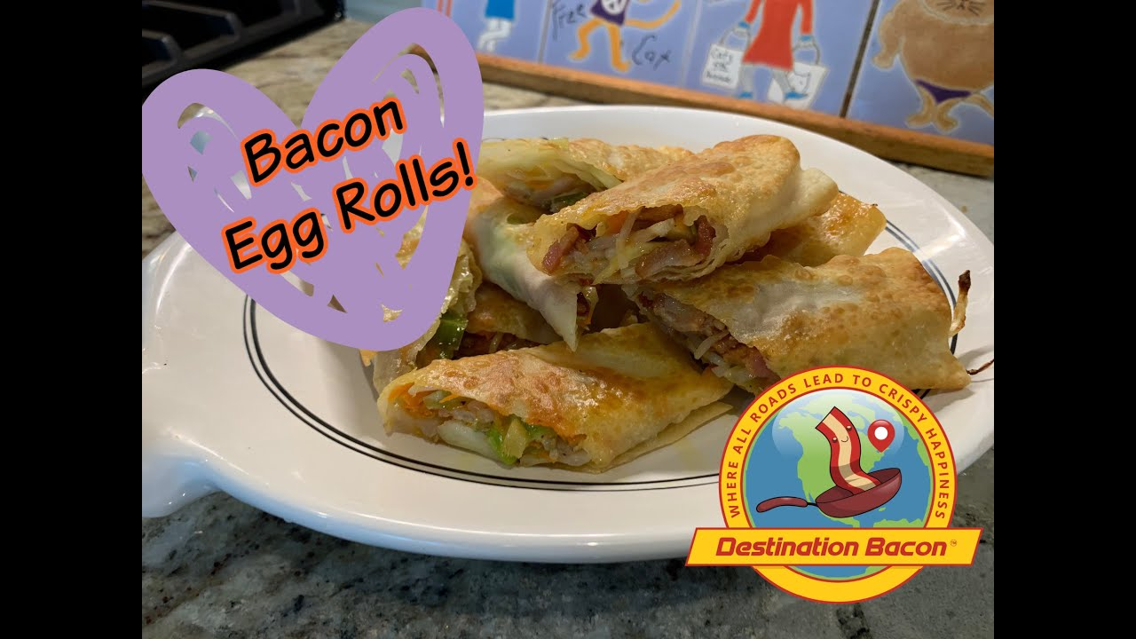 How to Make Bacon Egg Rolls