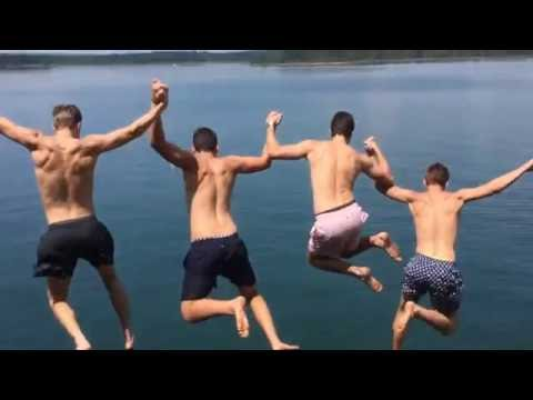 Greers Ferry Lake Cliff Jumping