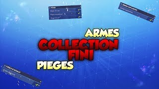 COLLECTION FINISHED!! ARMES - PIEGES - FORTNITE SAUVER THE WORLD
