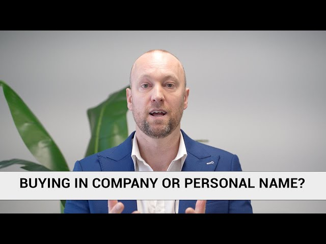 BUSINESS name or PERSONAL name? | The Loan Room