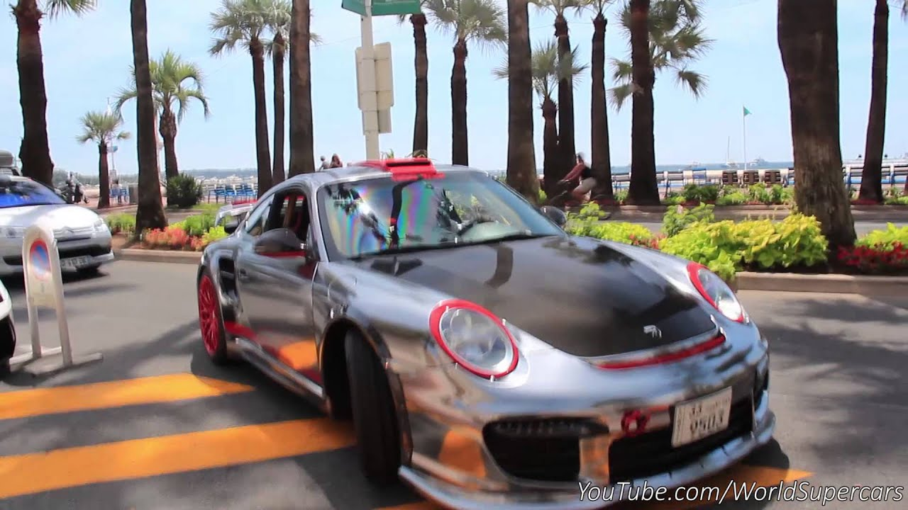 1300HP Decated Porsche GT2 INSANELY LOUD Sound!
