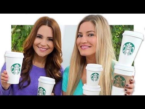 Generate Starbucks Challenge with Ro! | iJustine Images
