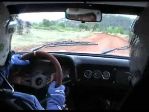 37ο Μαυρο Ροδο Νίκος Πολίτης Χρηστος Τοπαλης Ford MKII In-Car