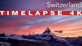 Switzerland 4K | Timelapse
