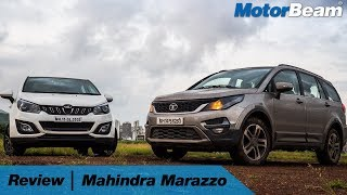 Mahindra Marazzo Review - Tata Hexa Better | MotorBeam