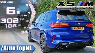 BMW X5M COMPETITION 0-300km/h ACCELERATION & SOUND by AutoTopNL