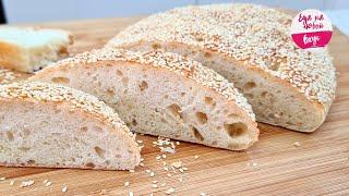 Я ЕГО нашла Греки пекут раз в год буду есть каждый день Вкусный Хлеб Лагана Не крошится как пух