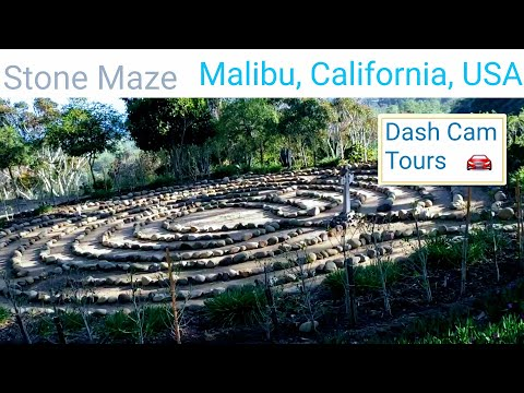 Dash Cam Tours - Serra Retreat, Malibu, California, USA