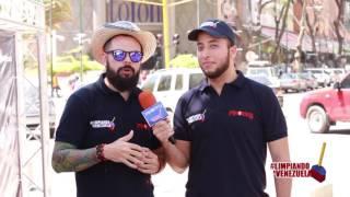 Revista exclusiva - Entrevista a Isaac Paniza con motivo de la campaña Limpiando a Venezuela