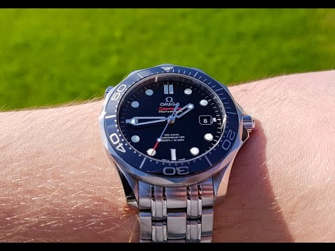 34725cb2cb97 Omega Seamaster 300m ceramic watch review (updated version in description)