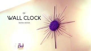 Diy Wall Decor Clock