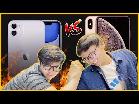 TRANH CÃI CỰC GẮT!!!! IPHONE XS MAX ĂN ĐỨT IPHONE 11???