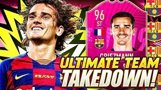 EPIC 96 FUTTIES GRIEZMANN TEAM TAKEDOWN! FIFA 19 Ultimate Team