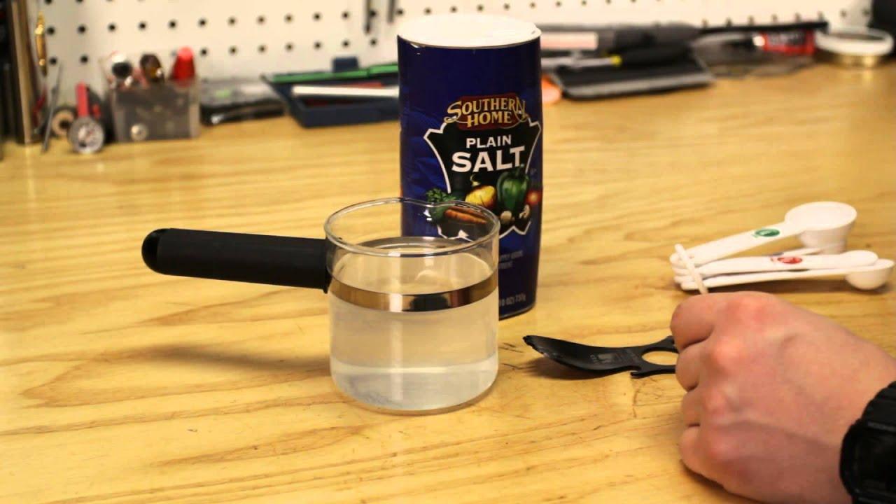 DIY Saline Solution - YouTube