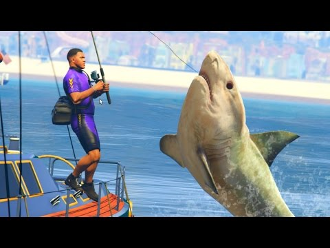 GTA 5 Mods - DEADLIEST CATCH FISHING MOD! (GTA 5 PC Mods)