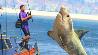 GTA 5 Mods - DEADLIEST CATCH FISHING MOD! (GTA 5 PC Mods)