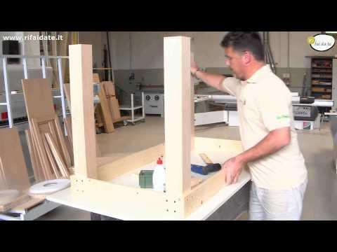 Costruzione tavolo in legno con gambe tornite doovi - Costruire tavolo in legno ...
