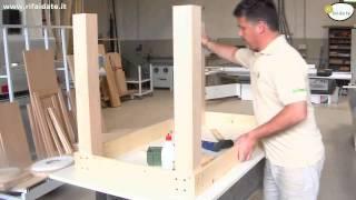 Come costruire un tavolo in legno parte 2