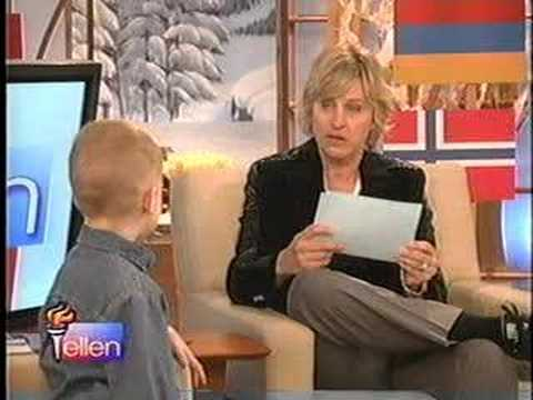 Youtube Ellen Degeneres Kid President