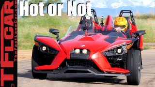 2016 Polaris Slingshot Road, Track & 0-60 MPH Review - TFL Leaderboard Hot or Not Ep.7