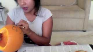 How to make a Jack o'lantern for Halloween Thumbnail