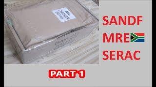 South African Ration Review: SANDF 24H MRE Menu 5 Part 1 of 2