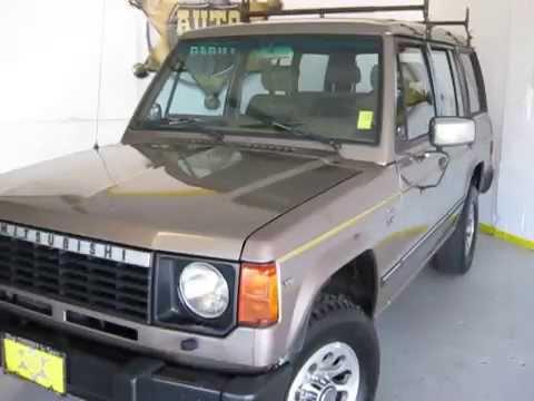 1991 MITSUBISHI MONTERO LS 4WD - YouTube