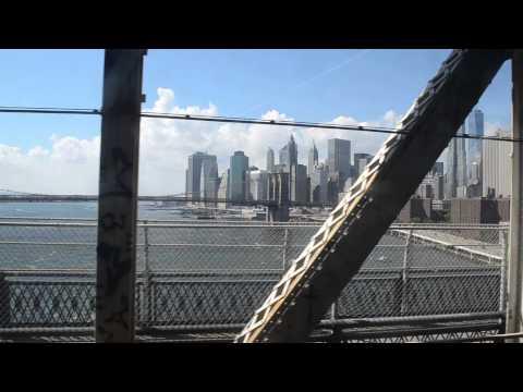 Brooklyn Bridge from Subway under Manhattan Bridge