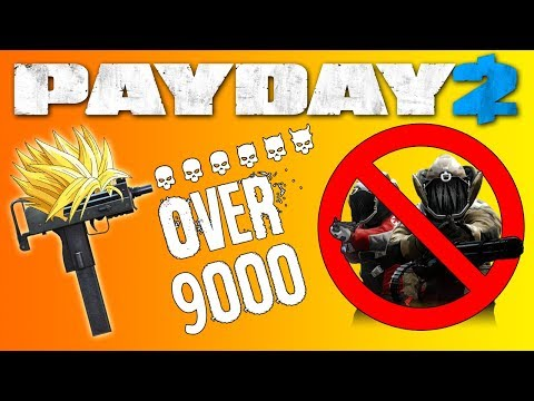 KILLING EVERY DOZER WITH AN SMG   Death Sentence (OD) Dodge Build   PAYDAY 2