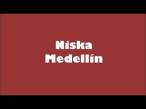 Niska - Medellín ( Lyrics ) paroles