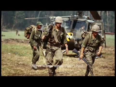 Ballad of the Green Berets Lyrics with Vietnam Pictures