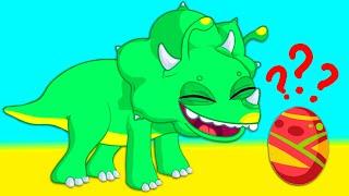Nuevo episodio Groovy el Marciano | ¿Es un huevo de dinosaurio? ¡No, es un huevo sorpresa de pascua
