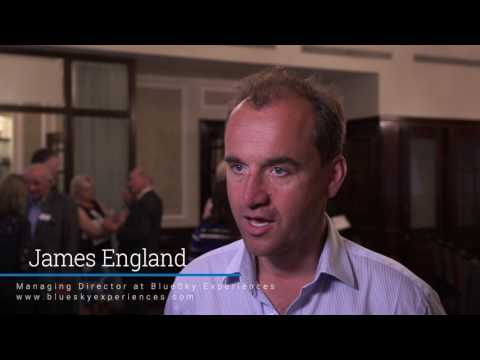 James England, Managing Director of BlueSky Experiences
