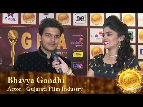 Bhavya Gandhi At Red Carpet Of GIFA 2017