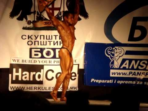 2009 Balkan BB Championship - Serbia, Bor - CBB up to 175cm - Tuty - 1st Place - Posing Routine