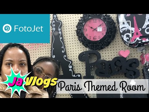 FOTOJET YOUR THUMBNAILS | PARIS THEMED ROOM