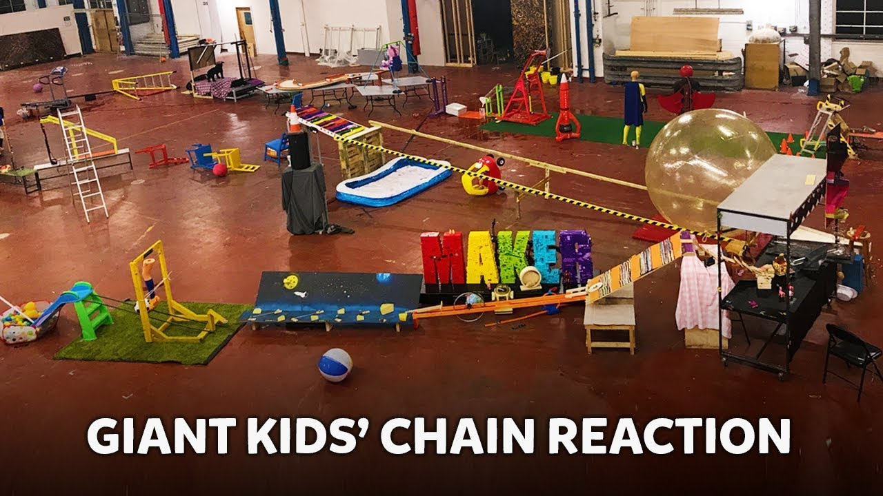 Download Giant Kids' RUBE GOLDBERG Machine! | Kids Invent Stuff
