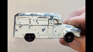 MATCHBOX Restoration No 14c Bedford L.C.C. Ambulance 1962