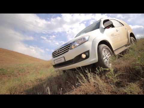 Тест- драйв нового Toyota Fortuner